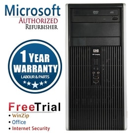 Refurbished HP Compaq DC5750 Tower AMD 3500+ 2.2G 4G DDR2 250G DVD WIN 7 PRO 64 1 Year Warranty