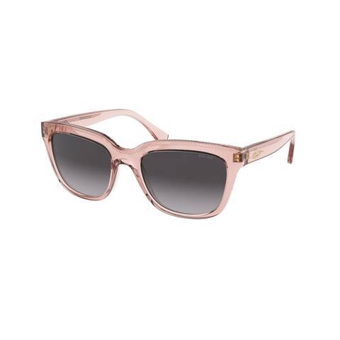Ralph RA5261 58018G 53 Transparent Pink Woman Pillow Sunglasses