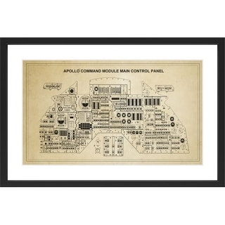 Marmont Hill Control Panel - Black Framed Art Print Smithsonian Black Framed Giclee Art Print on High Resolution Archive Paper