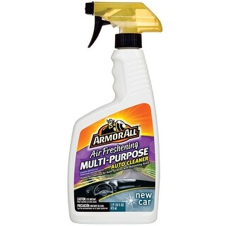 Armor All 17951 New Car Multi-Purpose Air Freshening Auto Cleaner, 16 Oz