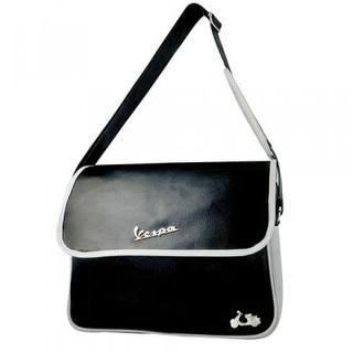 Vespa Messenger Bag - Black
