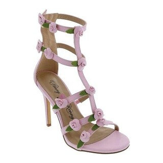 Penny Loves Kenny Women's Dabble Cage Sandal Pink Polyurethane