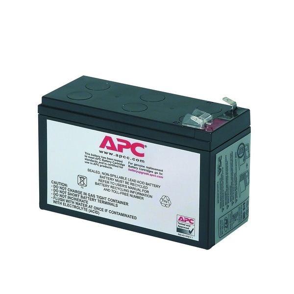 Apc Accessory Apc-Rbc2 Replacement Battery Cartridge Number 2 Black