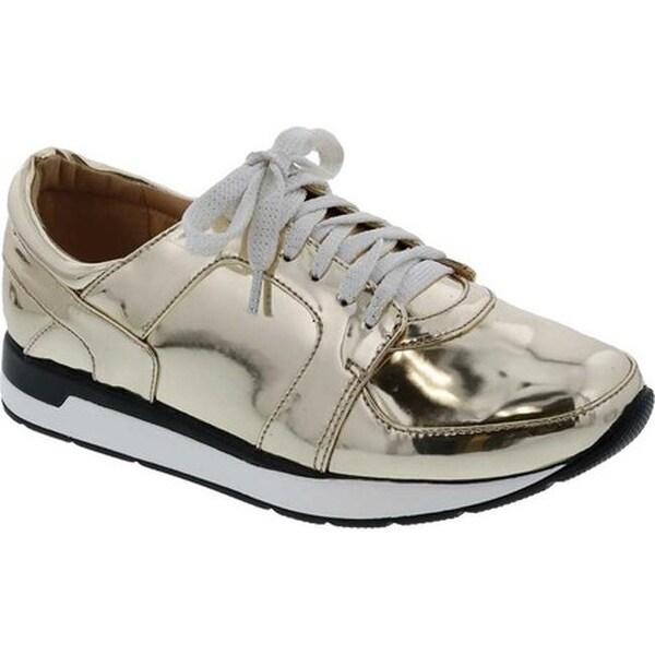 9641407bec Shop Penny Loves Kenny Women's Techno Sneaker Gold Metallic ...