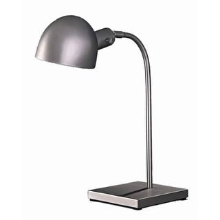 Kovacs GK P601-3 Contemporary / Modern Desk Lamp from the P3 Collection - matte brushed nickel