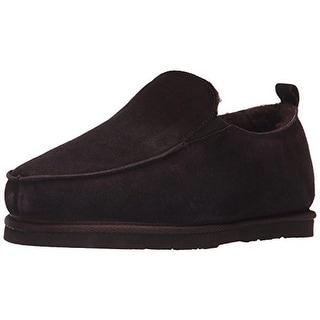 Dije California Mens Piru Slip-On Shoes Suede Fleece Lined