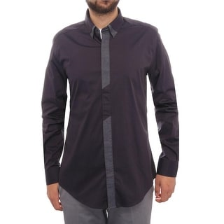 Antony Morato Cuff Collared Button Down Dress Shirt Men Dress Button