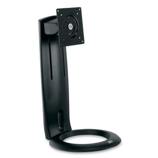 3M MS110MB 3M Display Stand - 16 lb Load Capacity - Flat Panel Display Type Supported - Black