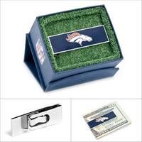 Denver Broncos Money Clip - Blue
