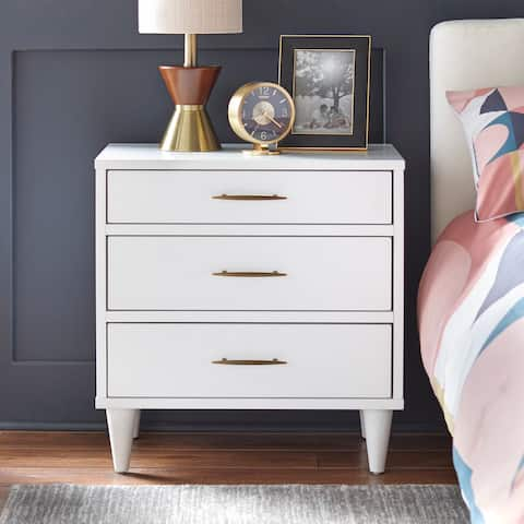 Lifestorey Ana 3-Drawer Nightstand
