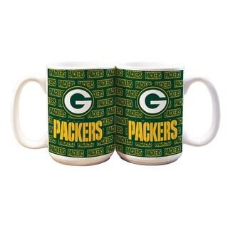 Green Bay Packers 15oz Line Up Mug