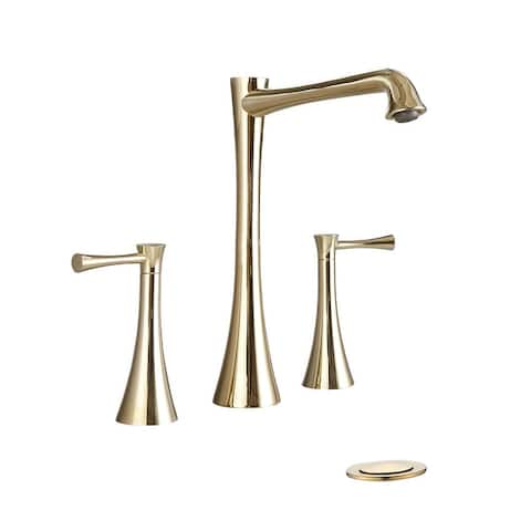 PROOX 2-Handles Bathroom Faucet with Pop Up Sink Drain