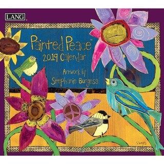 2019 Painted Peace 2019 Wall Calendar, Christian by Lang Companies