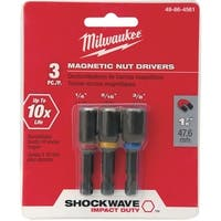"Milwaukee 3Pc 1-7/8"" Nutdriver Set"