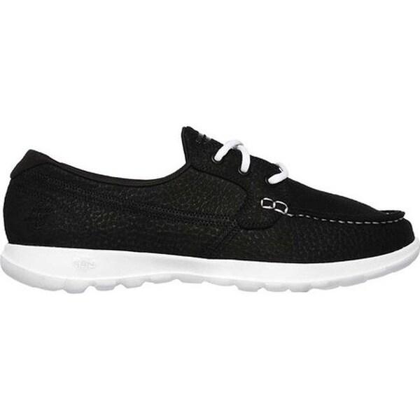 GOwalk Lite Eclipse Boat Shoe Black