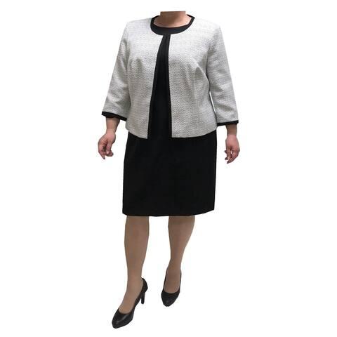 Danillo Plus Size 2-Piece Dress Suit Style#164689