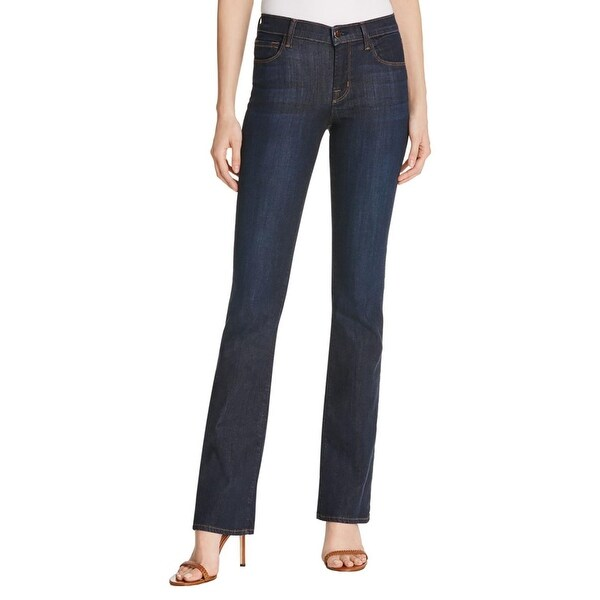 b04cd44877074 Shop J Brand Womens Maria Flare Jeans Stretch High Rise - Free Shipping On  Orders Over  45 - Overstock - 16809607
