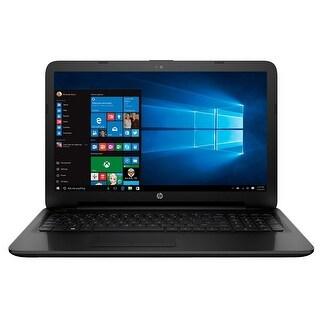 """HP 15-ac116ca 15.6"""" Notebook Intel Celeron N3050 1.6GHz 4GB 500GB Windows 10"""