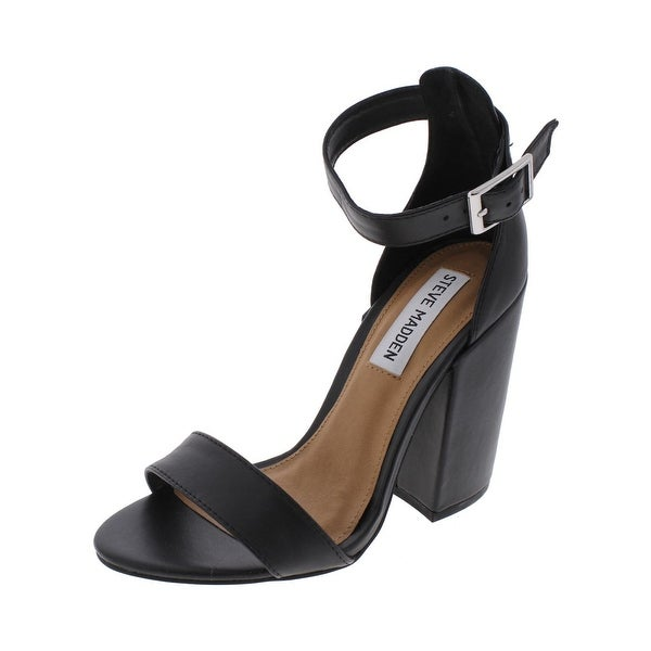 f6382b860a0 Shop Steve Madden Womens Ironic Dress Sandals Open Toe Block Heel ...