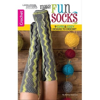Leisure Arts-Make Fun Socks