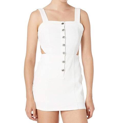 Jack Women's Shorts White Size 4 Little Sumptin' Denim Body-con Skort