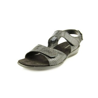 Easy Spirit Hartwell W Open-Toe Leather Slingback Sandal