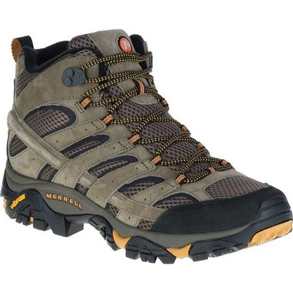 d0318ad3 Shop Merrell Men's Moab 2 Vent Mid Hiking Shoe Walnut - Free ...