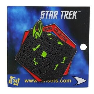 Star Trek Borg Collective Enamel Collector Pin - multi