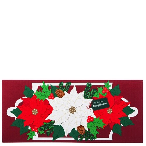 Holiday Poinsettias Switch Mat