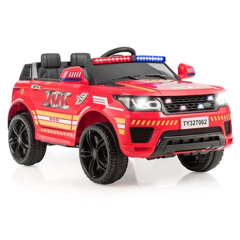 Costway Kids 12V Electric Ride On Car with Remote Control Bluetooth