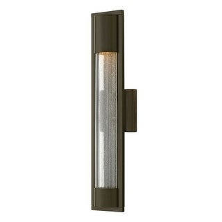 Hinkley Lighting 1224 1 Light ADA Compliant Outdoor Wall Sconce From the Mist Collection