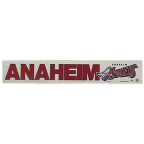 """Los Angeles Angels 2""""x15"""" Static Cling - As Pictured"""
