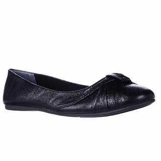SC35 Audreyy Wrap Bow Ballet Flats - Black