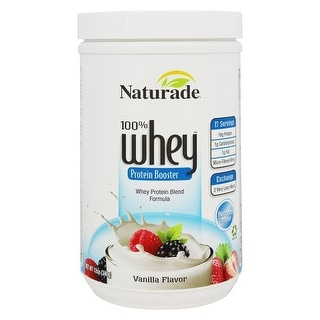 Naturade 100% Whey Protein Vanilla 12-ounce