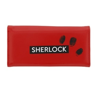 Sherlock Holmes Women's Clutch Wallet: I Am Sher Locked (Red)