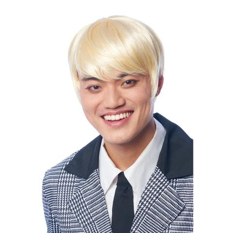 K-Pop Adult Costume Wig Cosplay, Costume, & Leisure Wig Brown Hair Color