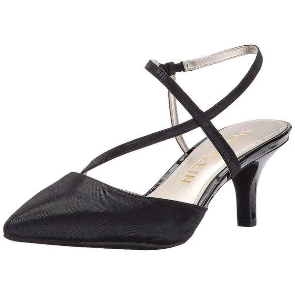 Anne Klein Womens ferdie Closed Toe Ankle Strap Classic Pumps