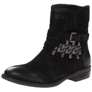 STEVEN by Steve Madden Women's Traker Distressed Ankle Boots