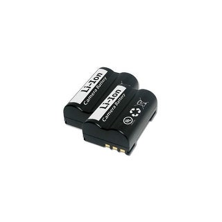 Replacement Battery for Olympus PSBLM1 (2 Pack)