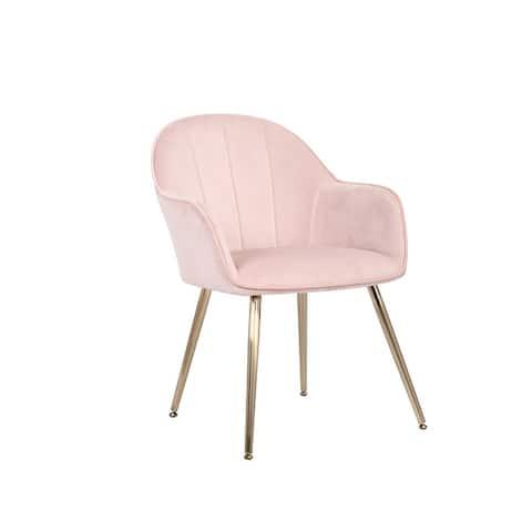 Carson Carrington Tavelsrum Velvet Dining Room Chair