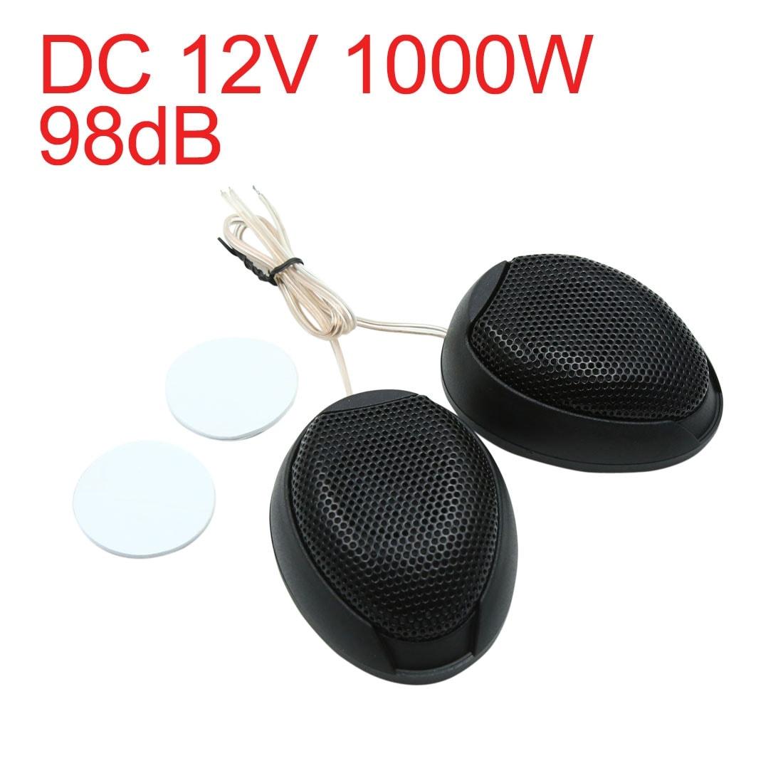 Car Stereo Audio Speaker Tweeter 120W Max Power Loud Dome Speakers 92dB 1 Pair