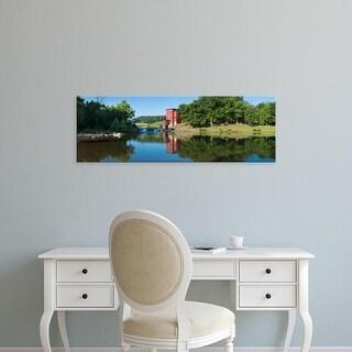 Easy Art Prints Panoramic Image 'Dillard Mill at Dillard Mill Historic Site, Dillard, Crawford, Missouri' Canvas Art
