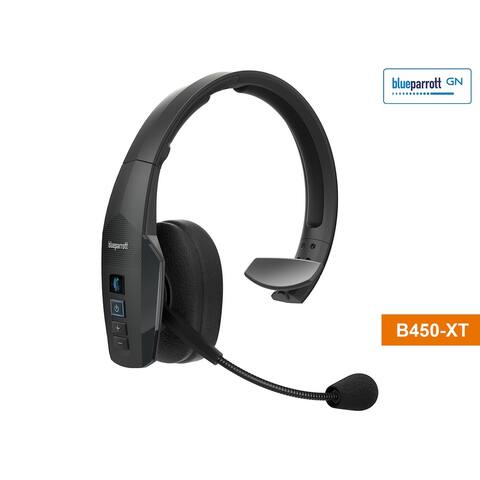 BlueParrott B450-XT-BPB-45020 Wireless Headset with IP54-Rated Design