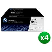 HP 85A Black Original LaserJet Toner Dual Cartridge (CE285D)(4-Pack)