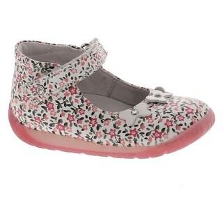 Naturino Girls 1584 Metallic Mary Jane Casual First Walker Shoes