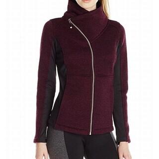 Betsey Johnson NEW Red Women's Size XS Colorblock Asymmetrical Jacket