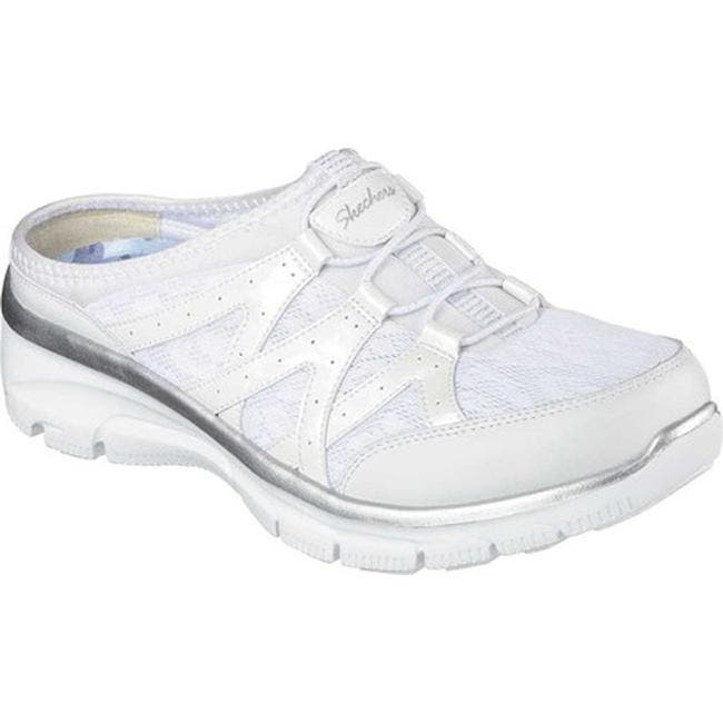 89298f5ff07 Shop Skechers Women's Relaxed Fit Easy Going Repute Clog Sneaker ...