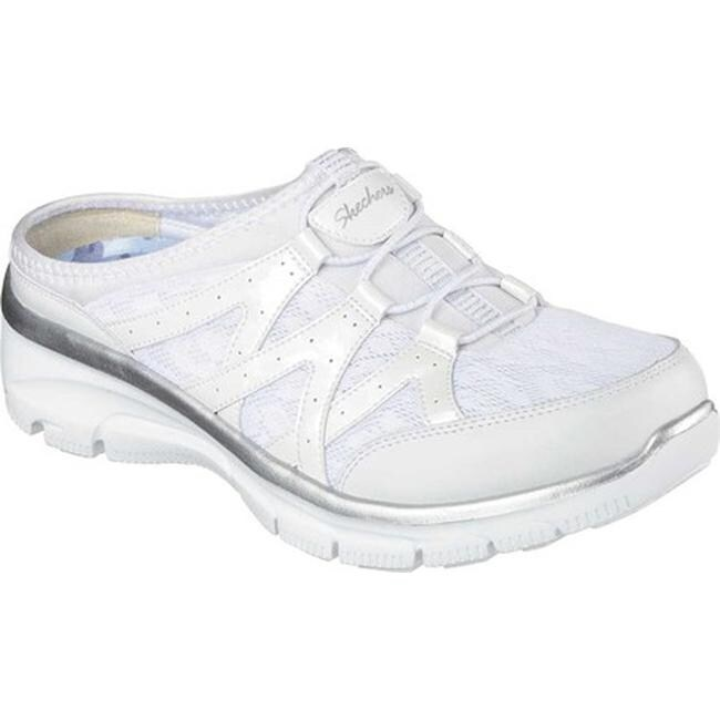 Skechers Relaxed Fit Women's Memory Foam Easy Going Repute Clog Sneaker Size 8