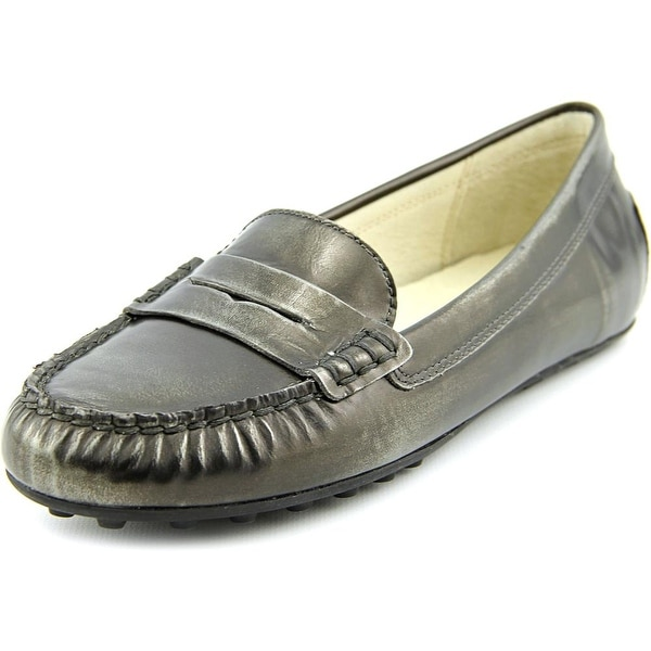 Michael Michael Kors Daisy Loafer Round Toe Leather Loafer