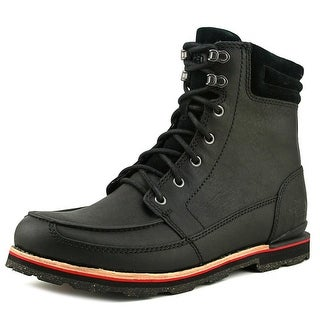 The North Face Bridgeton Boot Men  Round Toe Leather Black Winter Boot